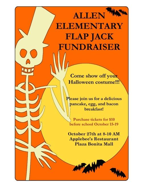 Flap Jack Fundraiser Flyer