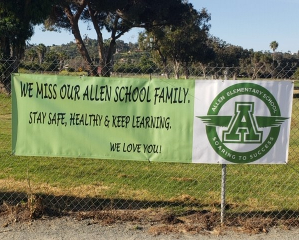 Banner: We Miss You!